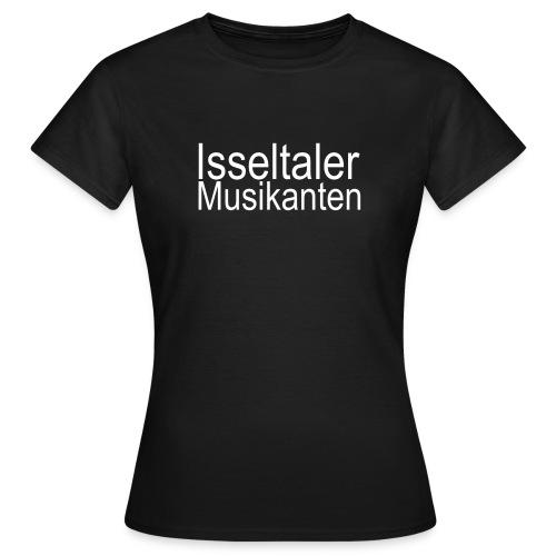 isseltaler logo wit 001 - Vrouwen T-shirt