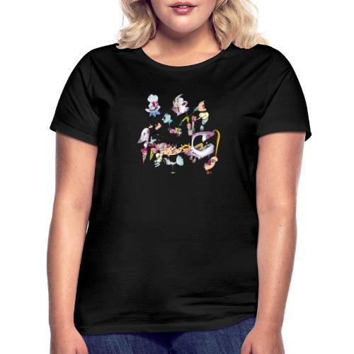Colourfull jook doodle - Vrouwen T-shirt