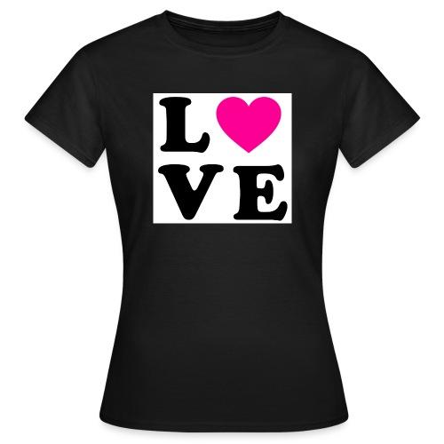 Love t-shirt - T-shirt Femme