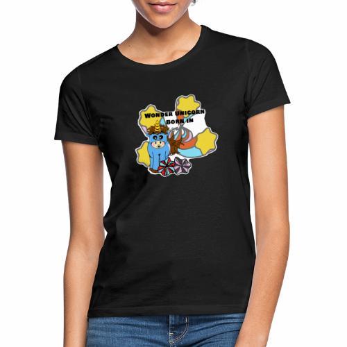 Une merveilleuse licorne est née (pour garcon) - T-shirt Femme