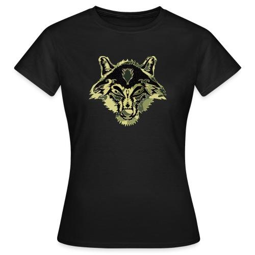 WOLFZER CAMO - T-shirt Femme
