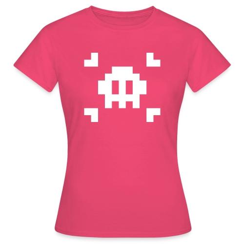 Pixel Skull - T-shirt Femme