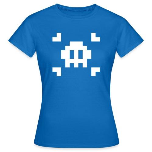 Mug Pixel Skull - T-shirt Femme