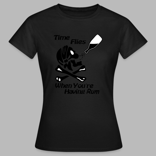Having Rum Piraten Shirt - Frauen T-Shirt