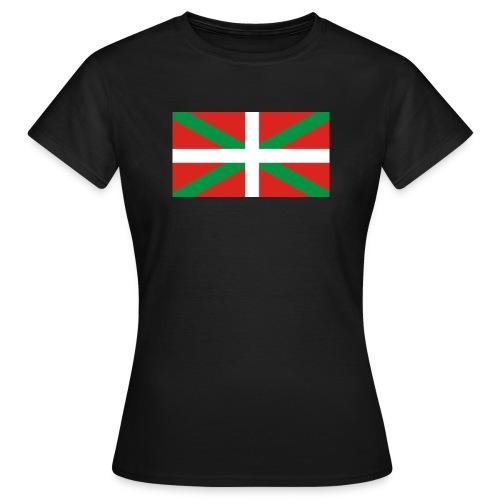 Camiseta ikurriña - Camiseta mujer