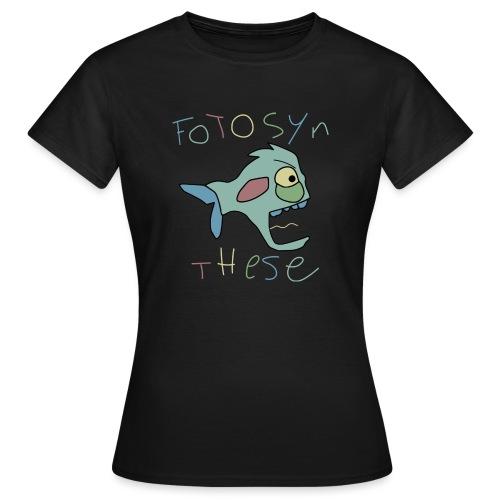 Fotosynthese Black - Vrouwen T-shirt