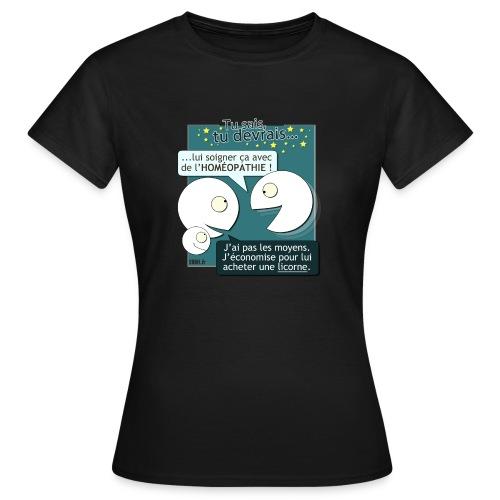 Conseils & homéopathie - T-shirt Femme