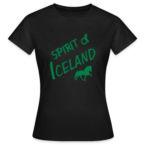 4gaits ruecken - Frauen T-Shirt