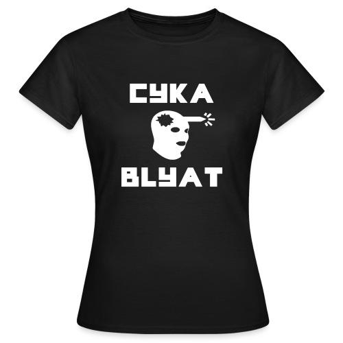 CYKA_BLYAT-png - Women's T-Shirt