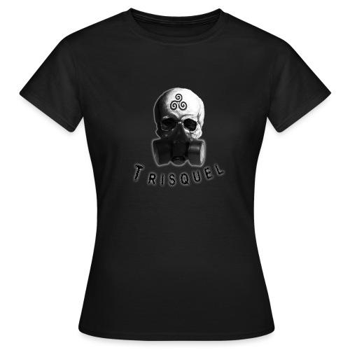 Trisquel Negro - Camiseta mujer