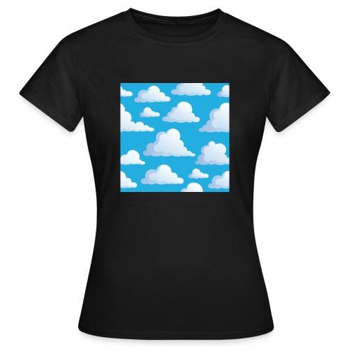 Cartoon_Clouds - Women's T-Shirt