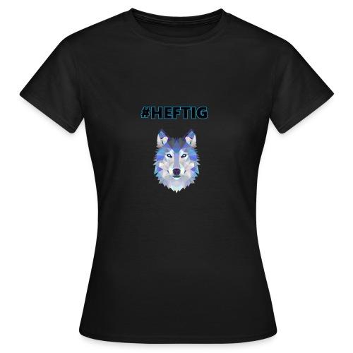 wolf blau - Frauen T-Shirt