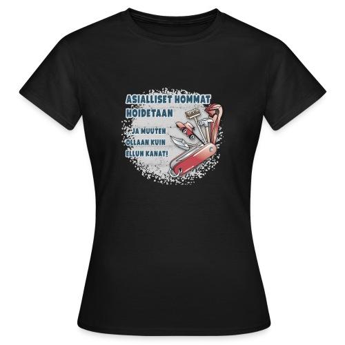 TYÖKALU todelliselle ammattilaisille, Tekstiilit.. - Naisten t-paita