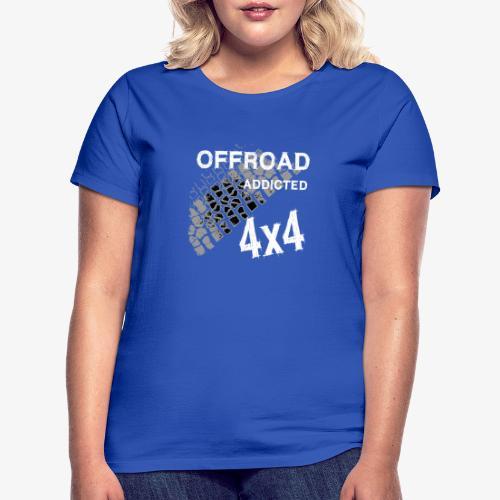 Defender Land-Rover OFF Road White - Frauen T-Shirt
