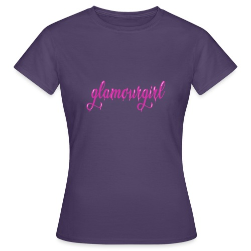 Glamourgirl dripping letters - Vrouwen T-shirt