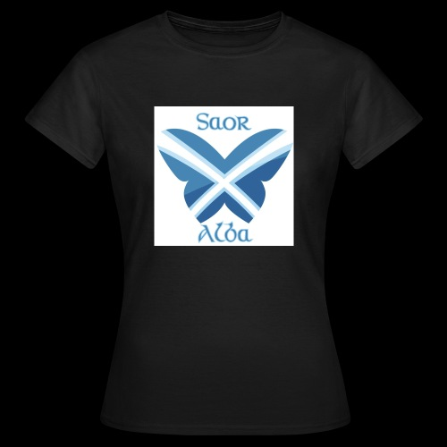 Saor Alba butterfly - Women's T-Shirt