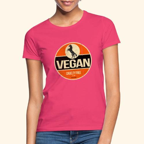 VEGAN Prancing Horse - Women's T-Shirt