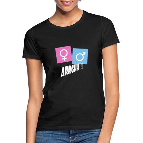 Kønsstereotyper argh - Dame-T-shirt