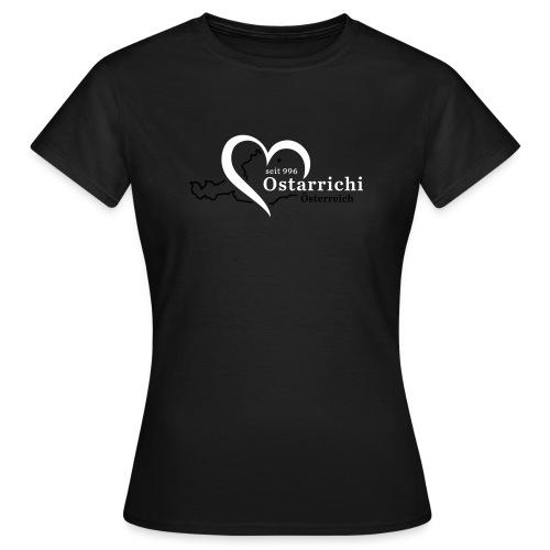 heartoftaustria - Frauen T-Shirt