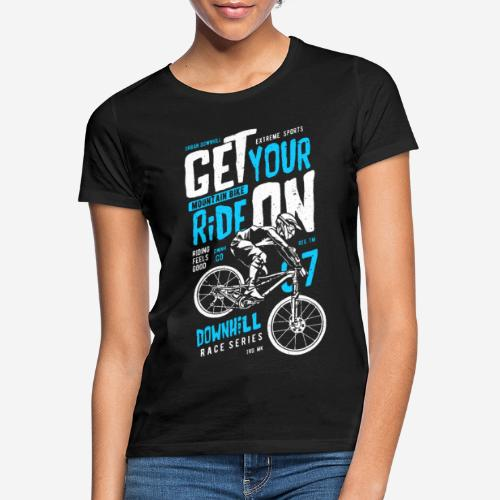 Radfahrer Biker - Frauen T-Shirt