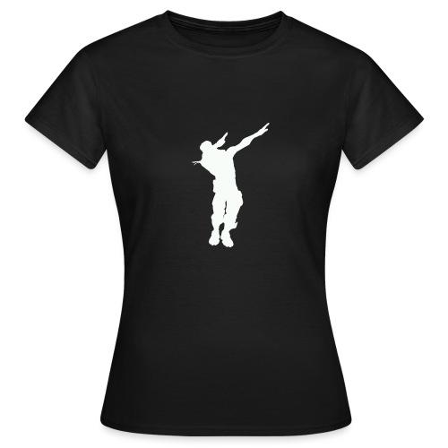 T Icon Emotes E Dab L png - T-shirt Femme