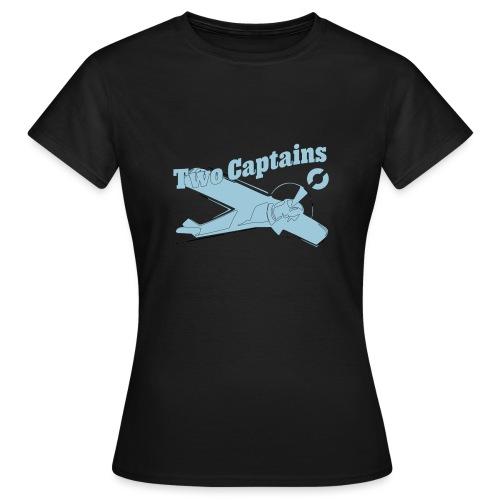 Two Captains - T-skjorte for kvinner