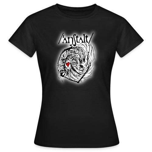 wesen mit herz und logo - Frauen T-Shirt