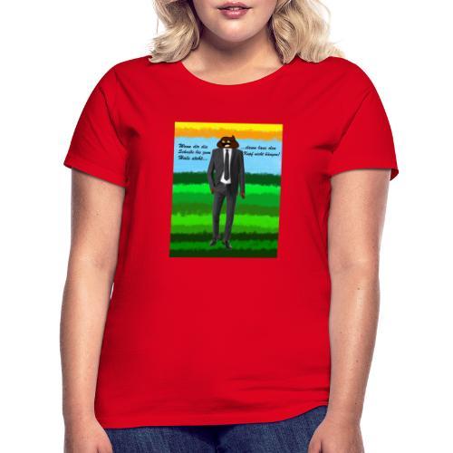 scheiß design - Frauen T-Shirt