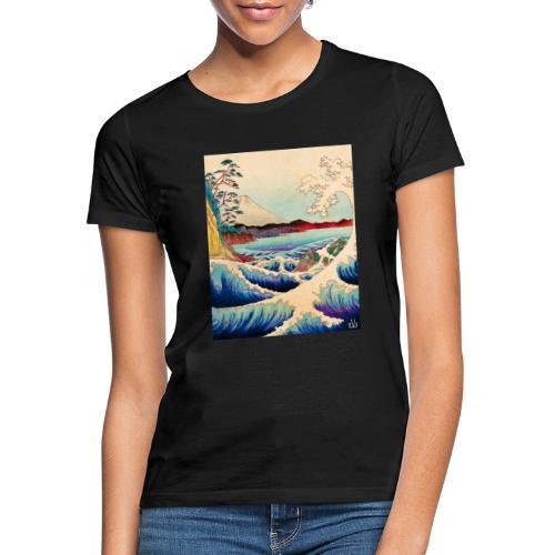 Japanese Wave - Frauen T-Shirt