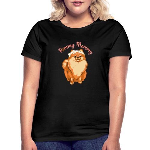 Pommy Mommy Pomeranian - T-shirt dam