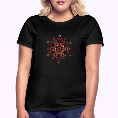 Mandala Nube - Camiseta mujer