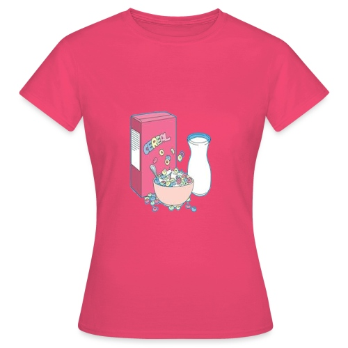 Cereal with milk - Camiseta mujer