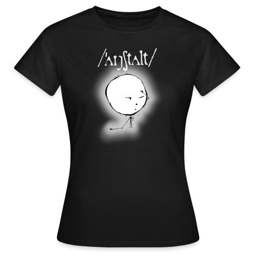 kreisling mit logo (weiß) - Frauen T-Shirt