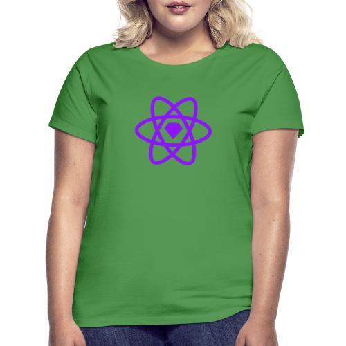 Sketch2React Dark Purple Logo - Women's T-Shirt
