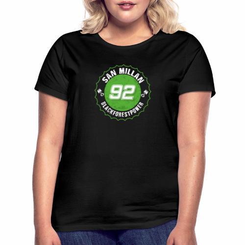 San Millan Blackforestpower 92 rund - Frauen T-Shirt