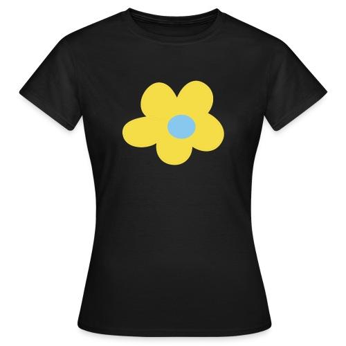 Kinder Comic - Blume - Frauen T-Shirt