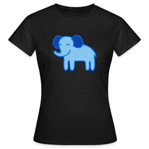Kinder Comic - Elefant - Frauen T-Shirt