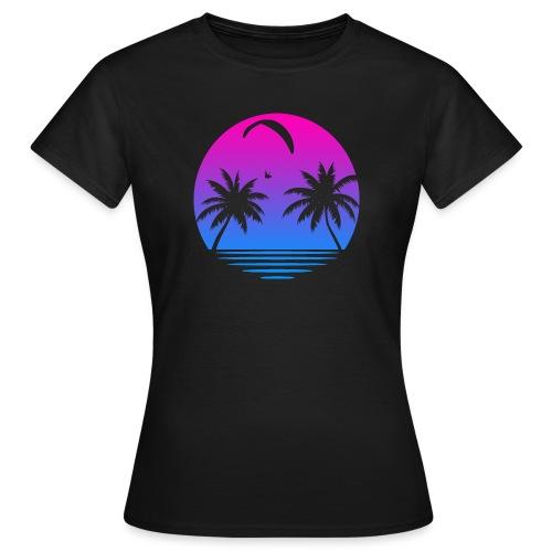 Paragliding Sunset - Frauen T-Shirt