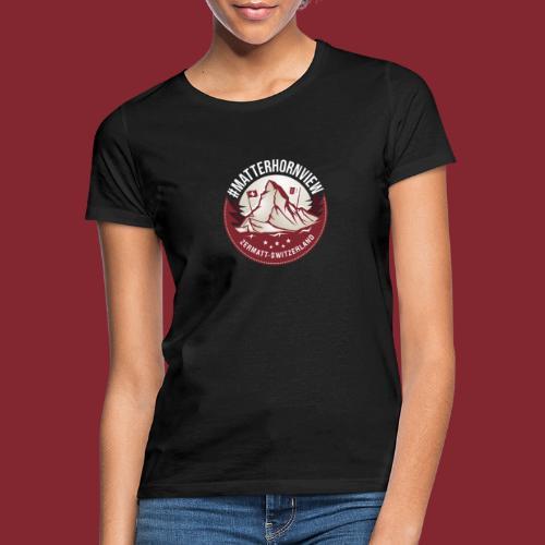 MatterhornView - Frauen T-Shirt