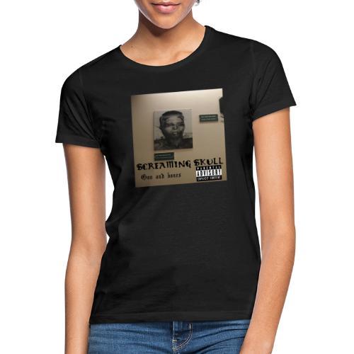 SCREAMING SKULL - Goo and bones - T-skjorte for kvinner