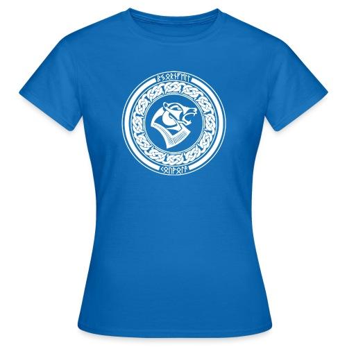 BjörnfellRisingWhite - Naisten t-paita