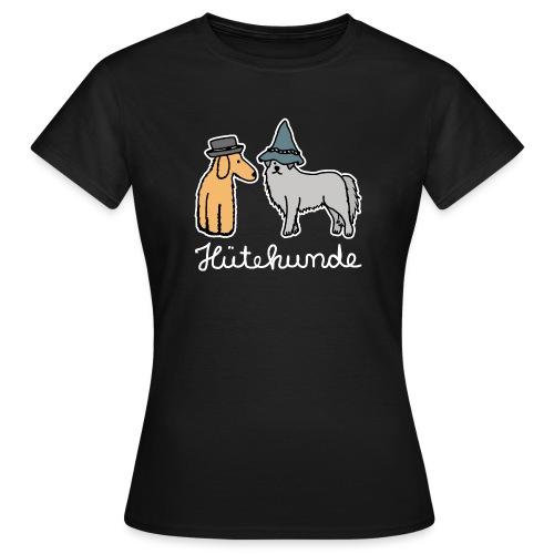Hütehunde Hunde mit Hut Huetehund - Frauen T-Shirt