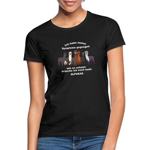 Shirt 1 BRAUN Alpakas - Frauen T-Shirt