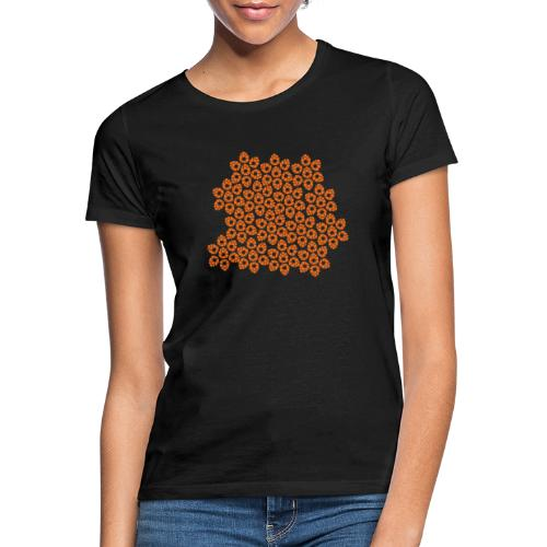 fotògrafs pattern - Camiseta mujer