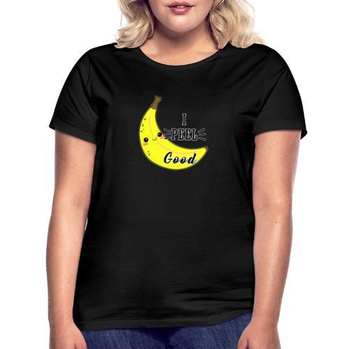 Banana divertente kawaii carina fumetto - Maglietta da donna