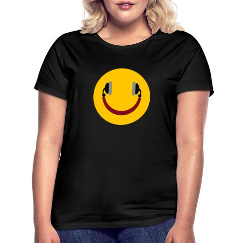 Smiling headphone - Dame-T-shirt