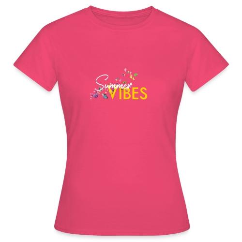 Summer Vibes ❤️ - Frauen T-Shirt