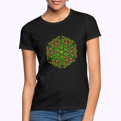 Fire Lotus Mandala - Koszulka damska