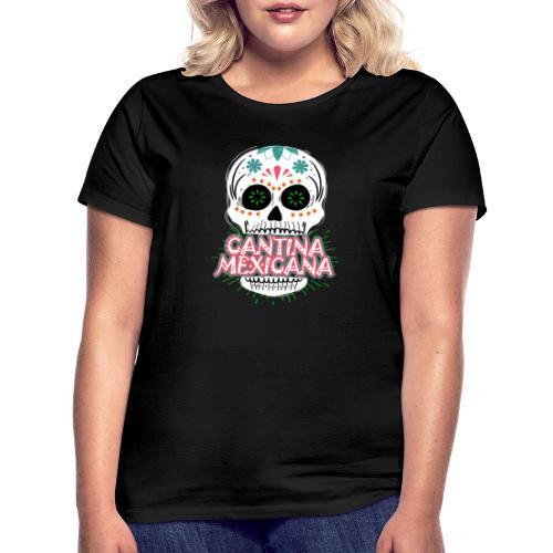 Totenkopf Weiß - Frauen T-Shirt