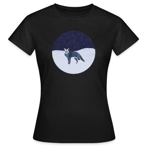 Blue fox - Naisten t-paita